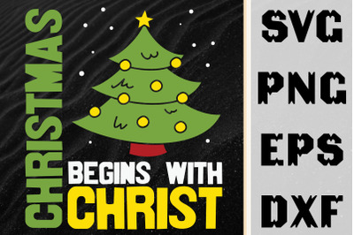 Christmas Begins With Christ Love Jesus