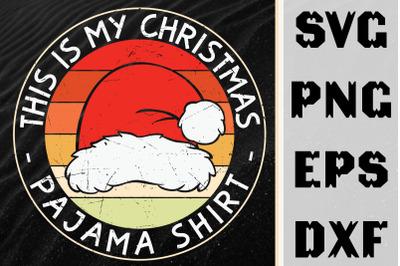 This Is My Christmas Pajama Shirt
