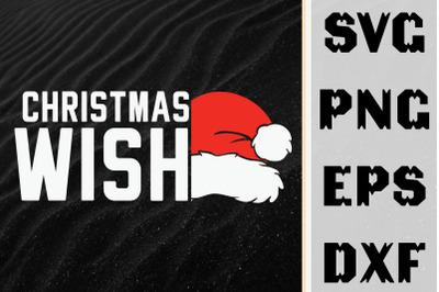 Santa Hat Christmas Wish