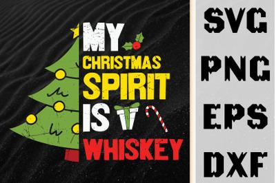 My Christmas Spirit Is Whiskey