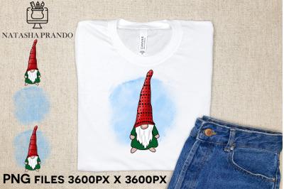 Christmas Gnome Clipart Tshirt Design