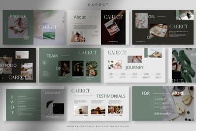 Carect - Modern Corporate Business Presentation