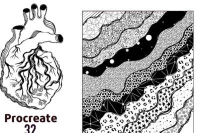 Graphic fantastic brushes