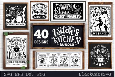 Witch's Kitchen SVG Bundle 40 designs