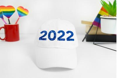 2022 blue sequin Sublimation design