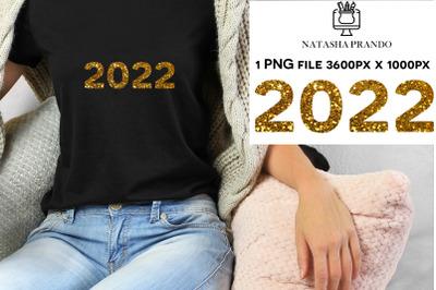 2022 gold sequin Sublimation design