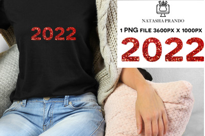 2022 red sequin Sublimation design