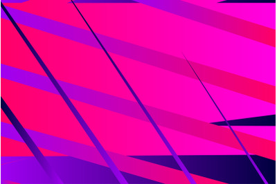 Minimal cover graphic, copy space design. Neon pink blue gradient colo