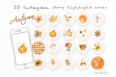 Autumn instagram Story Highlight