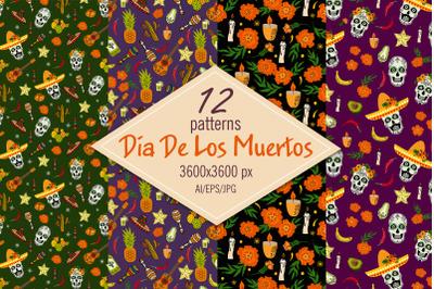 Dia De Los Muertos - patterns