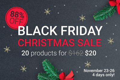 88% OFF - Black Friday Sale