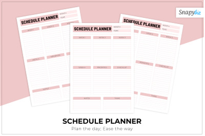 Schedule Planner