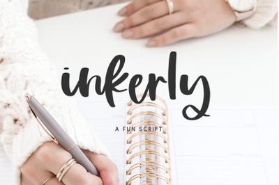 Inkerly Script