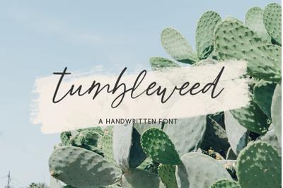 Tumbleweed Script