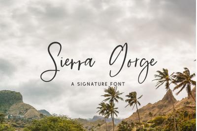 Sierra Gorge Script