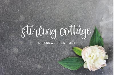 Stirling Cottage Script