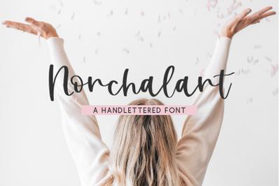 Nonchalant Script