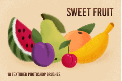 Textured brushes for Photoshop