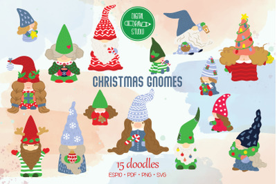 Christmas Gnomes |Holiday Ornaments, Gifts, Candy Canes
