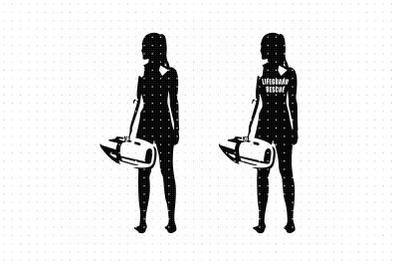Lifeguard SVG silhouette