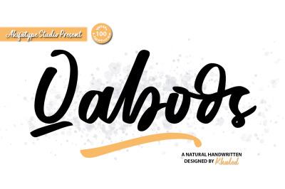 Qaboos - Handwritten