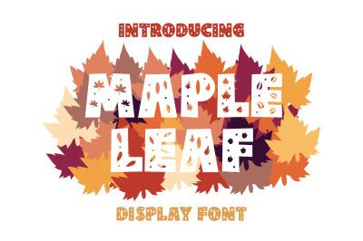 Maple Font