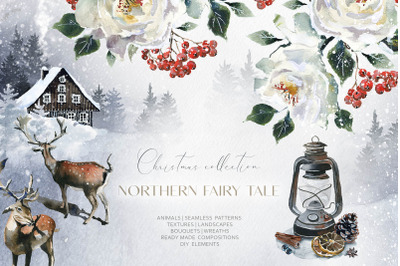 Northern Fairy Tale Watercolor Set