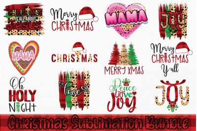 12 christmas sublimation bundle