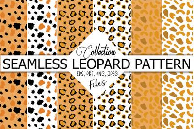 3 Seamless Leopard Patterns