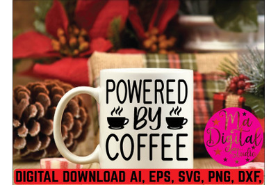 powered by coffee svg