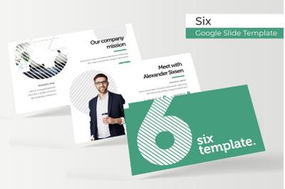 Six Google Slide Template