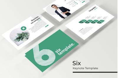 Six Keynote Template