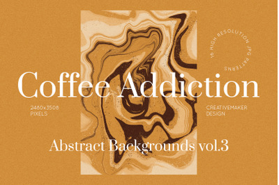 Coffee Abstract Patterns Vol. 3