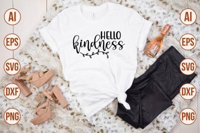 Hello Kindness SVG