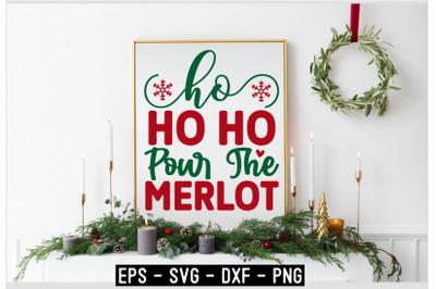 Christmas SVG T shirt Design Template