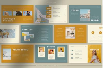Zeuvo - Modern Business Company Presentation PPT