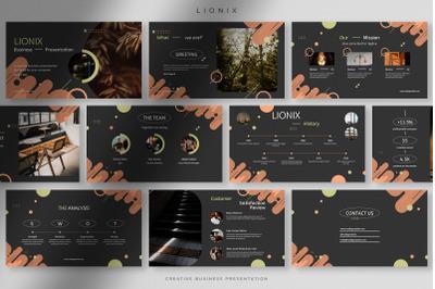 Lionix - Creative Business Presentation Powerpoint