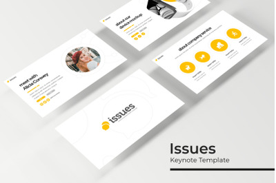 Issues Keynote Template