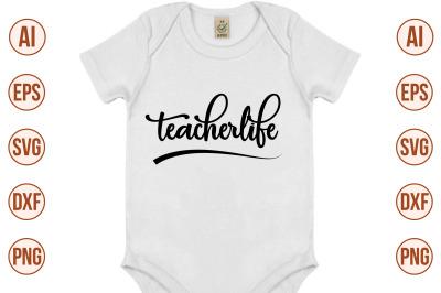Teacherlife SVG