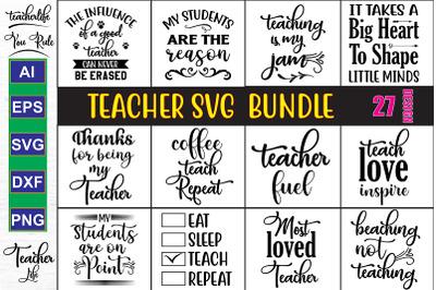 Teacher SVG Design Bundle, Vol 5