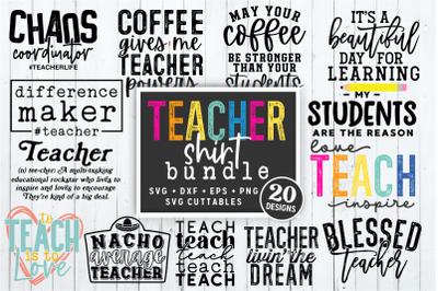 Teacher Shirt Bundle