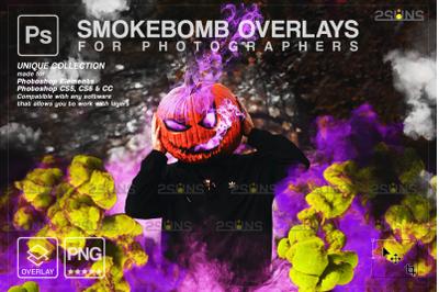 Halloween smoke overlay & Photoshop overlay: Halloween overlay, Smoke