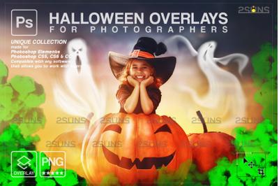 Halloween overlay, Ghost overlay, Photoshop overlay
