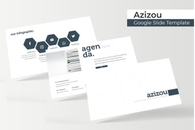 Azizou Google Slide Template