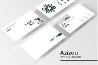 Azizou Keynote Template