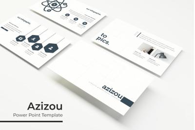 Azizou Power Point Template