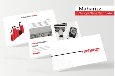 Maharizz Google Slide Template