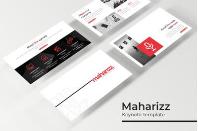 Maharizz Keynote Template