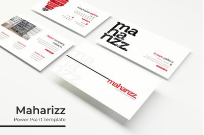 Maharizz Power Point Template