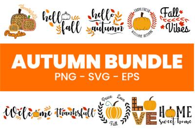 Autumn Sublimation Bundle